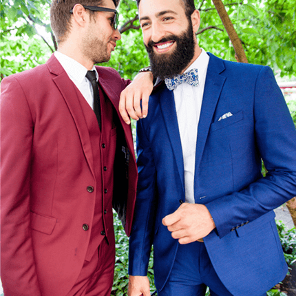 Le Pack Mariage de Vaubecour, costumes pour mariage