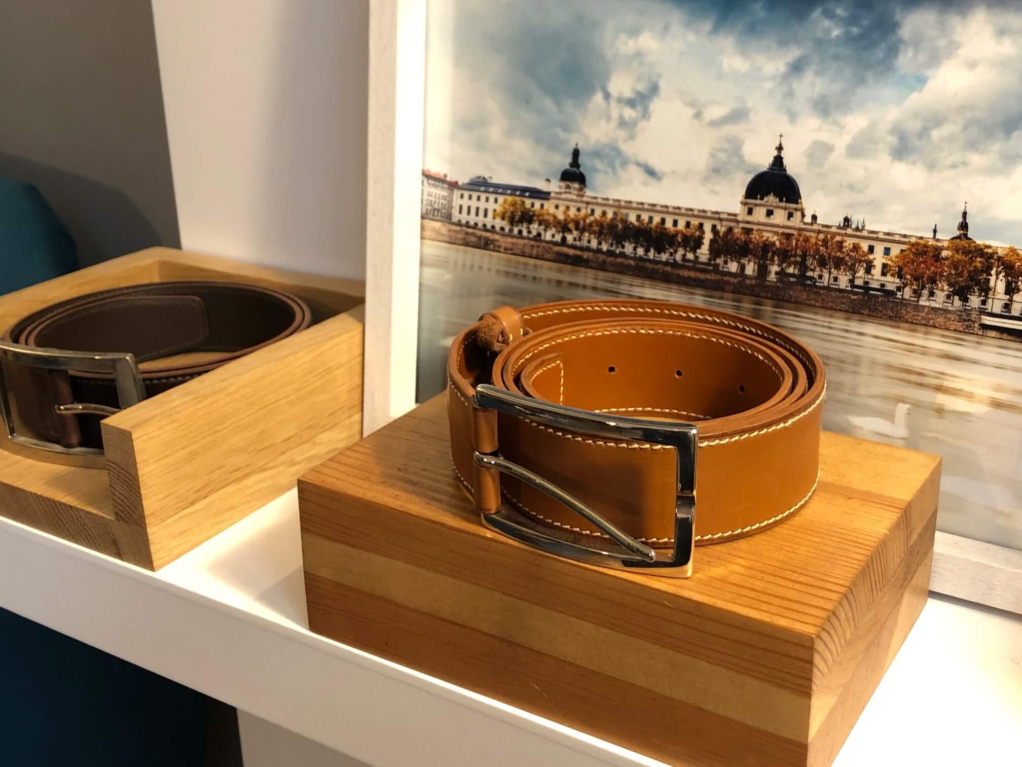 Nos ceintures pour homme par Vaubecour à Lyon et Annecy