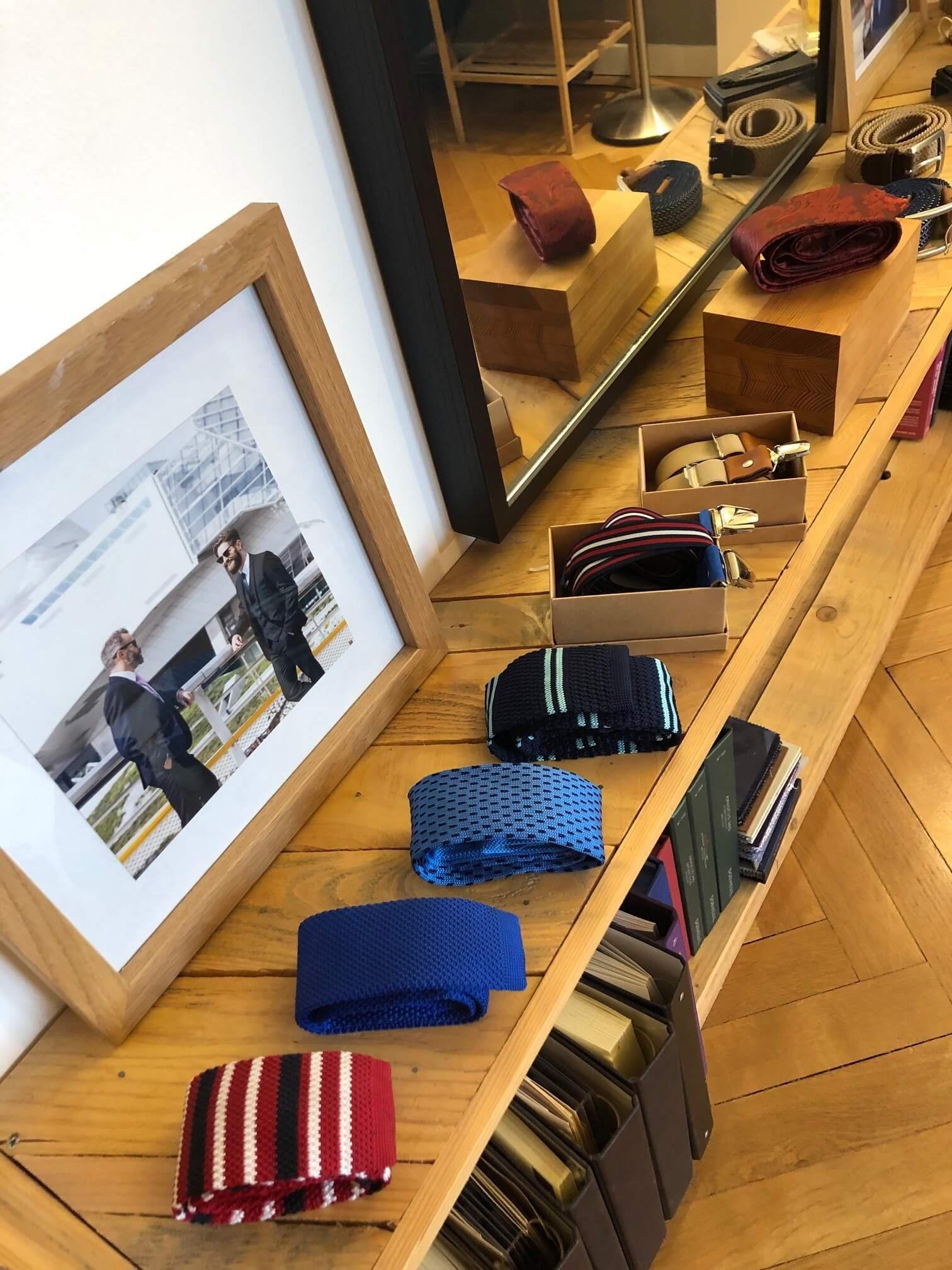 Nos cravates pour homme par Vaubecour à Lyon et Annecy